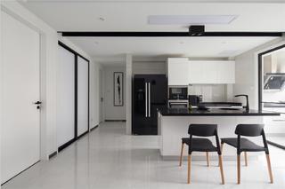 三居室简约之家厨房设计图