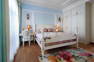 美式别墅装修床头背景墙设计