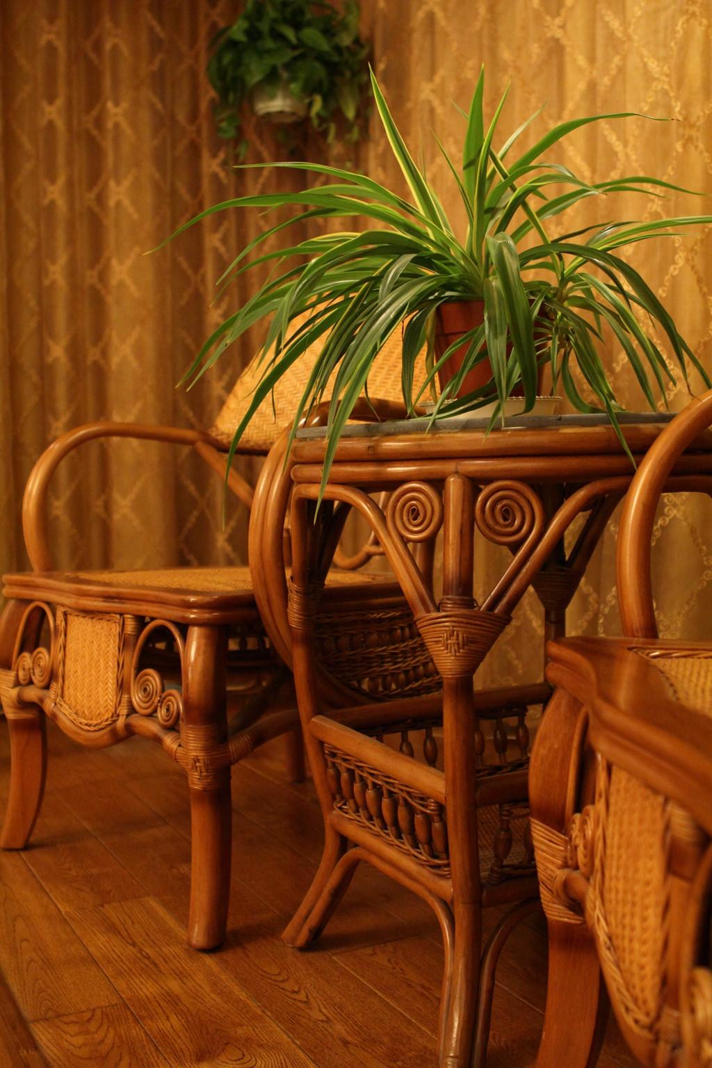 东南亚风格三居休闲阳台设计