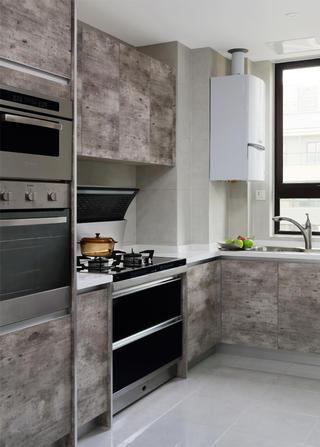 跃层公寓装修厨房设计图