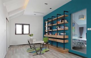跃层公寓装修书房效果图