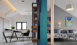 跃层公寓装修儿童房效果图