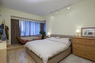 132平MUJI风格家卧室设计图