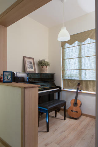 132平MUJI风格家琴房设计