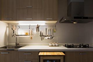 132平MUJI风格家厨房布置图