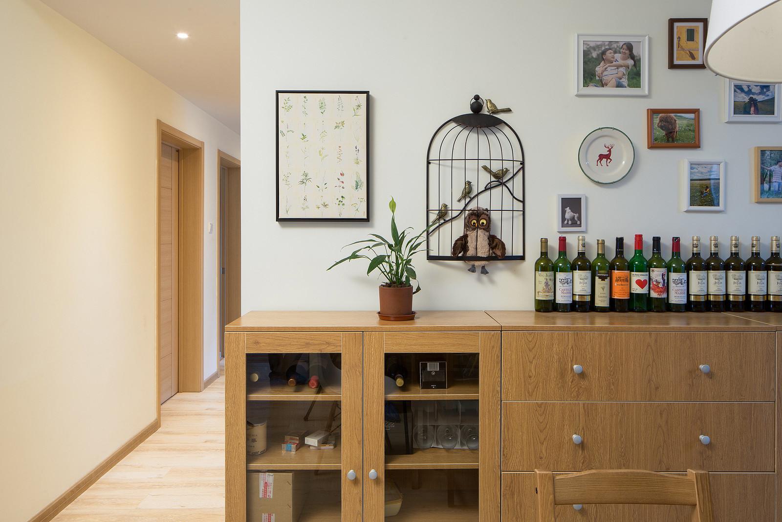 132平MUJI风格家酒柜图片