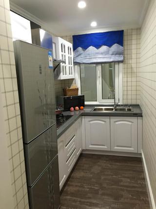 小户型北欧混搭厨房设计图