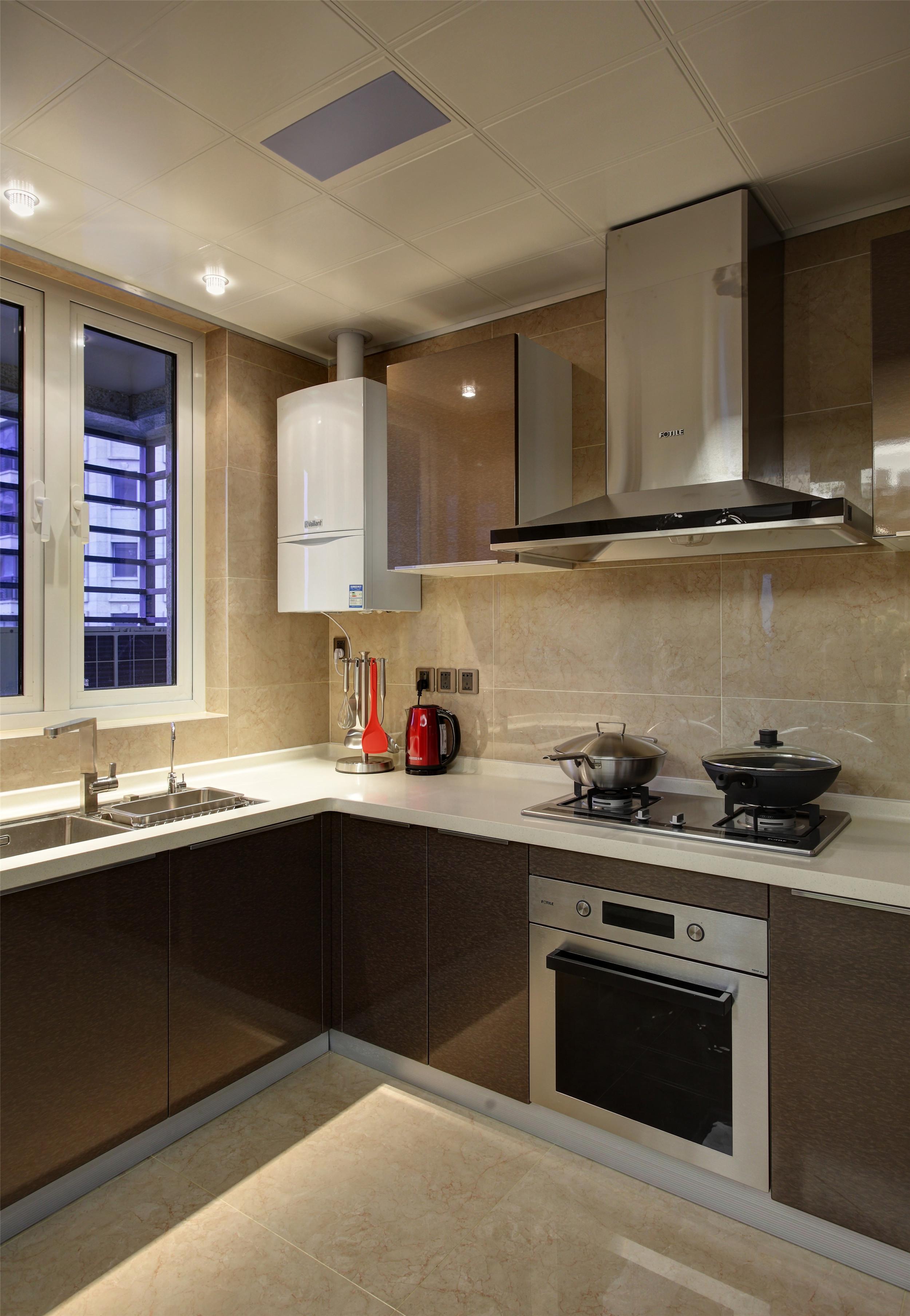 大户型混搭装修厨房设计图