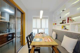 简约三居装修餐桌图片