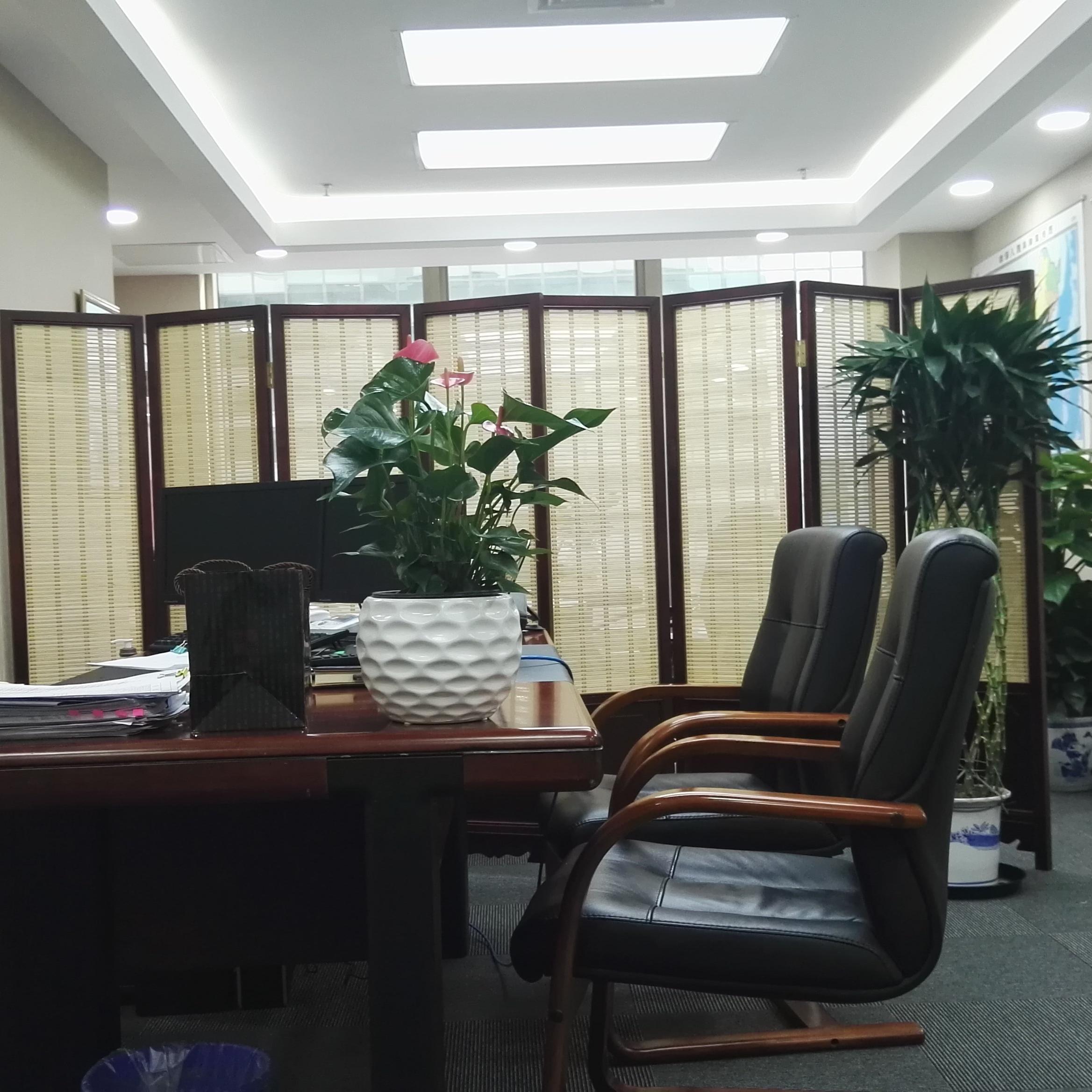 银行室内装修实景图