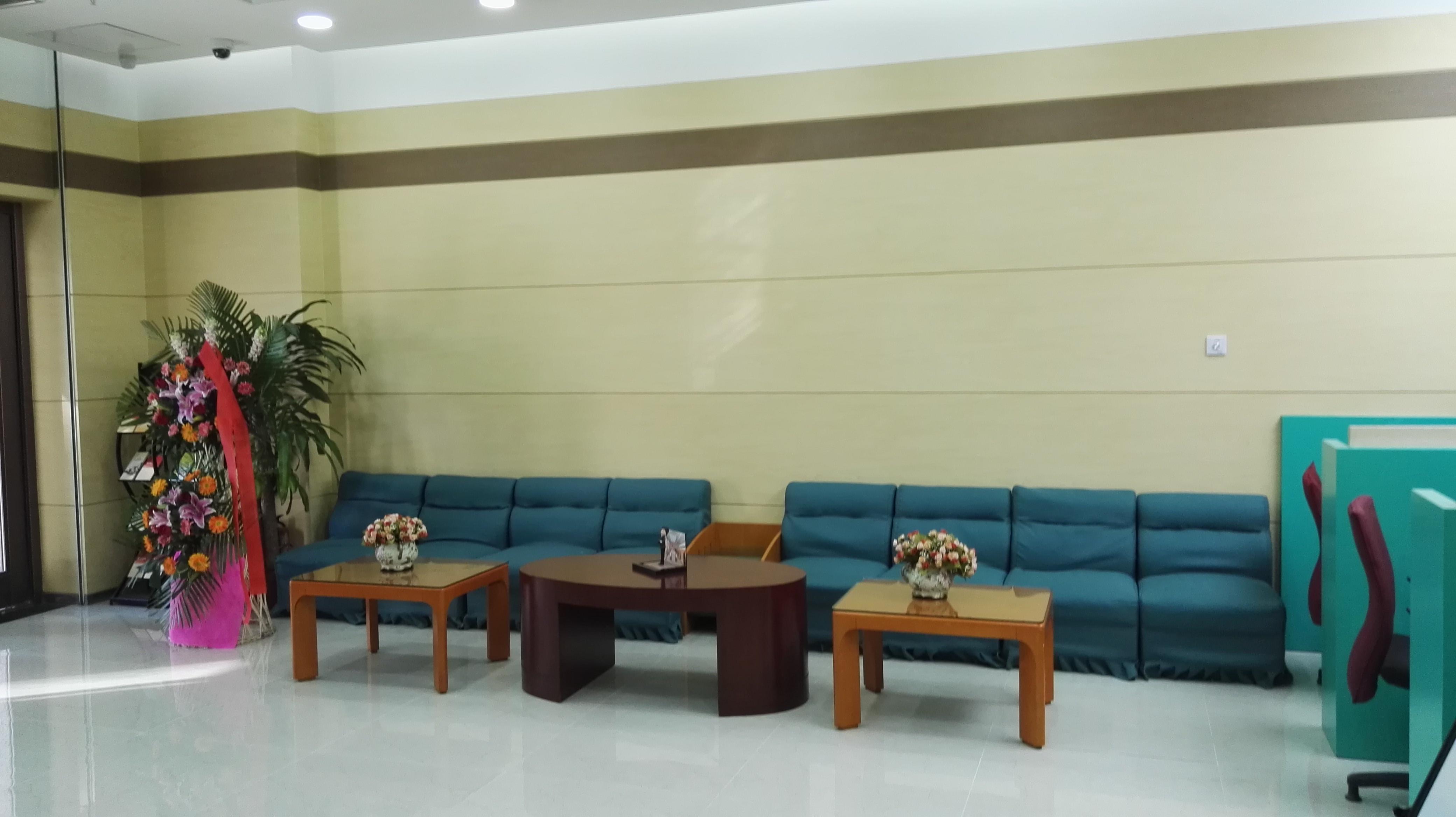 银行室内装修大厅等待区