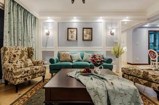 三居室美式之家沙发图片