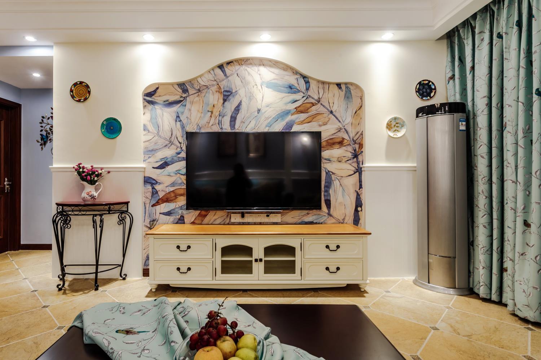 三居室美式之家电视柜图片