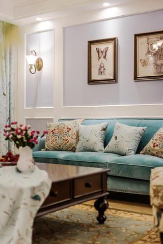 三居室美式之家抱枕图片