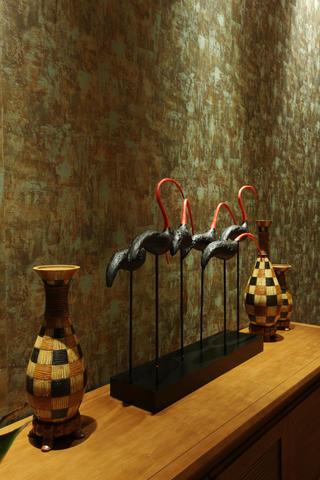 东南亚风格二居装饰摆件