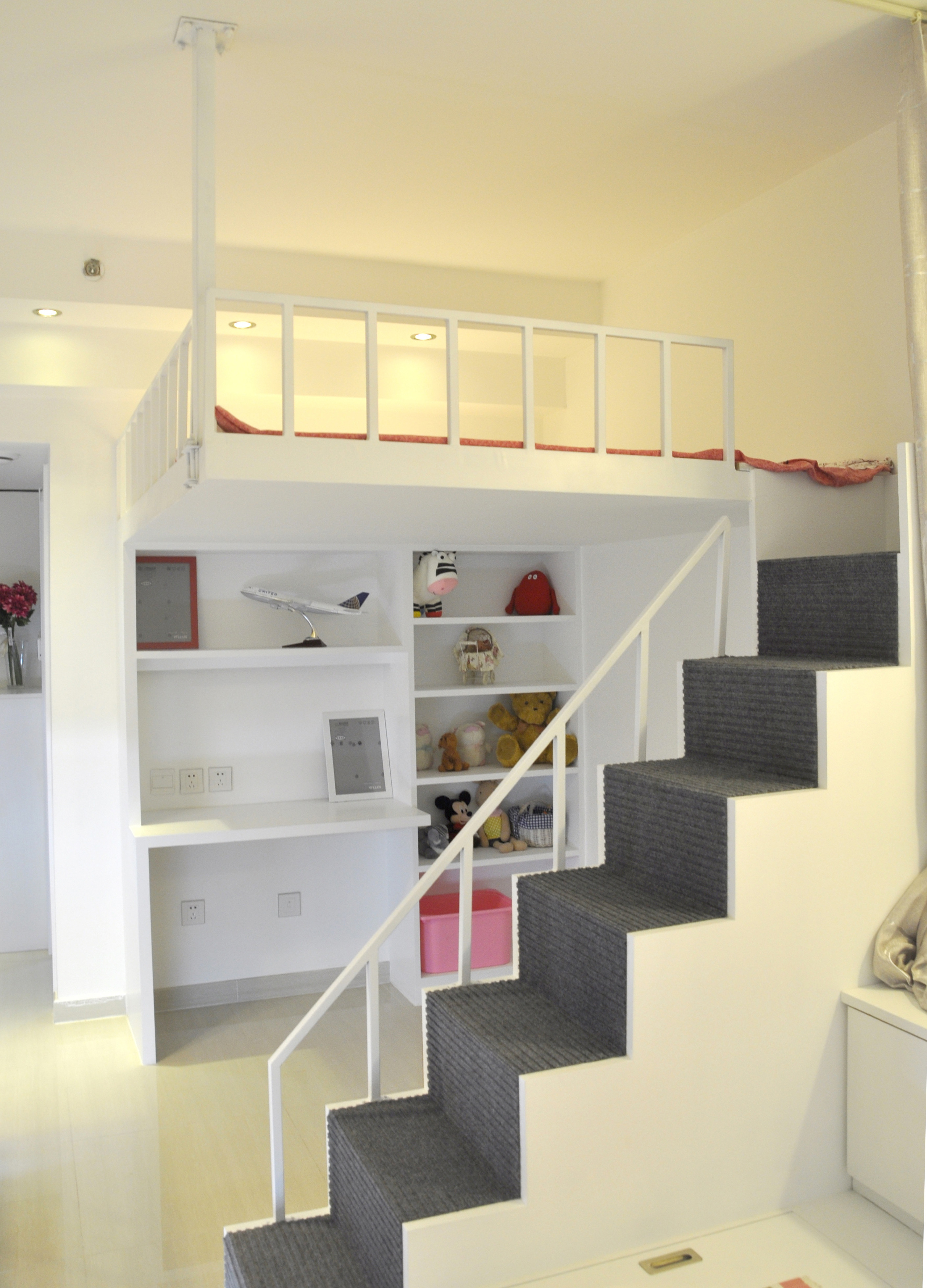 30平小公寓收纳柜设计