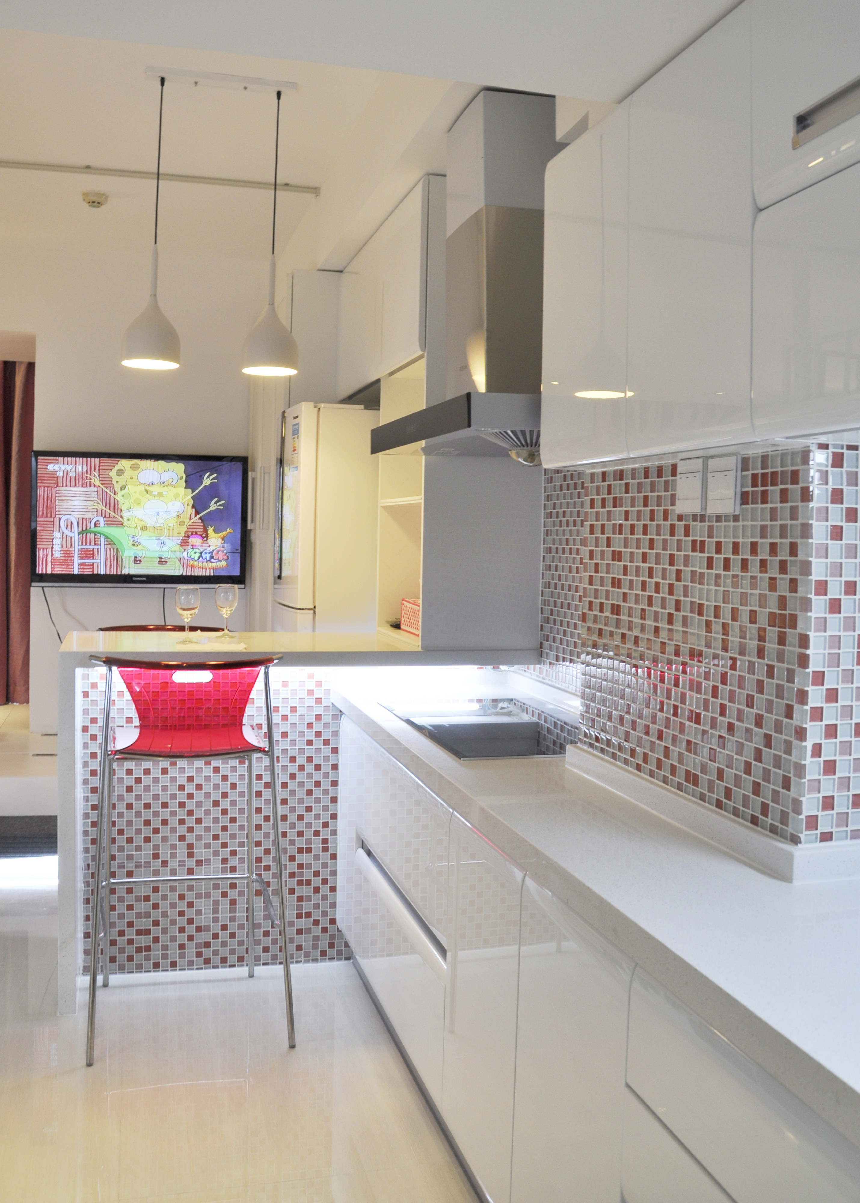 30平小公寓设计厨房搭配图