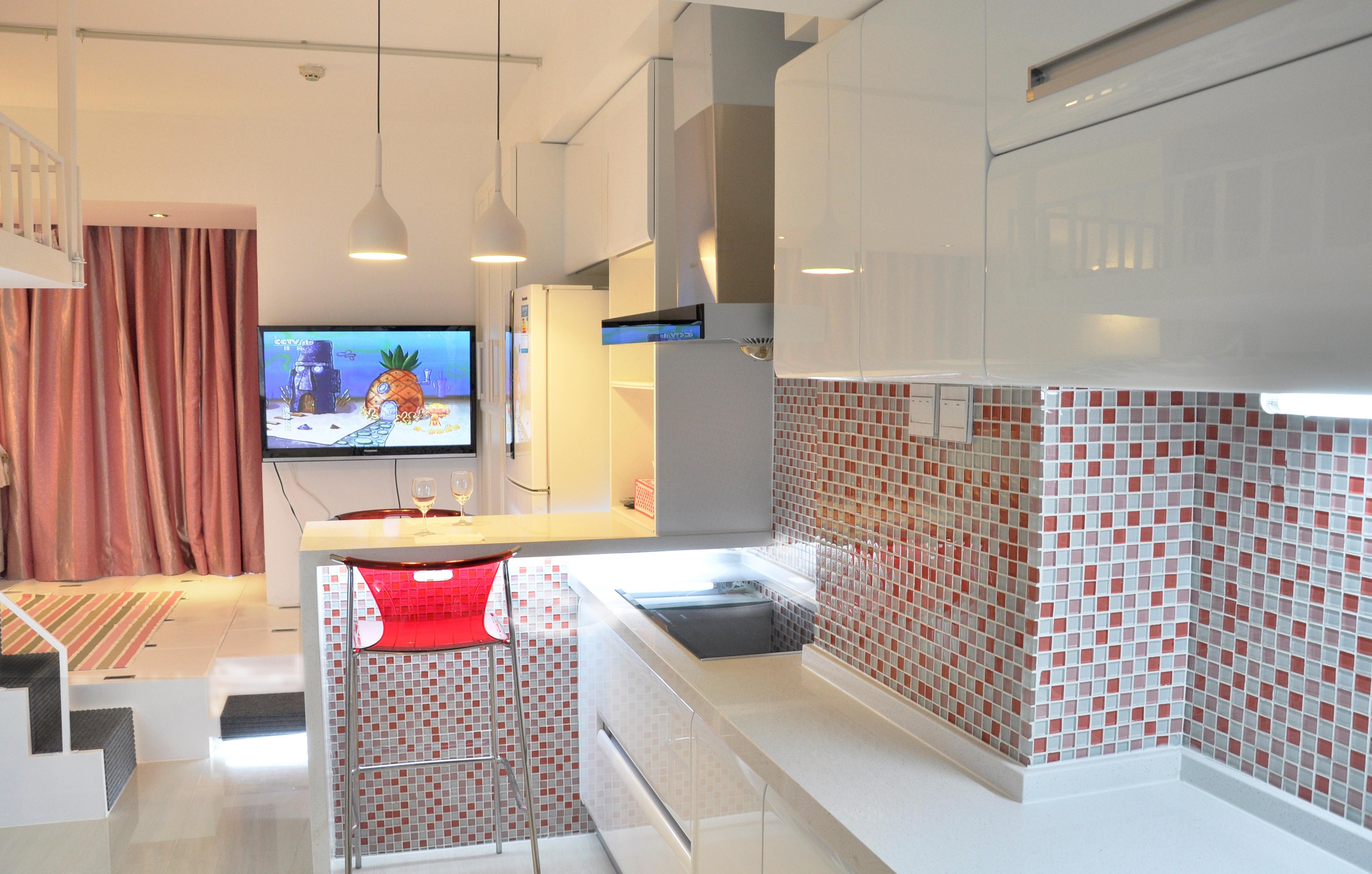 30平小公寓灯光设计