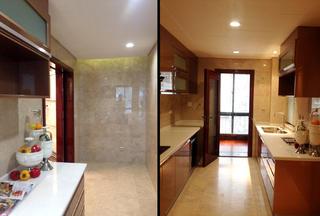 大户型中式后现代装修厨房布局图