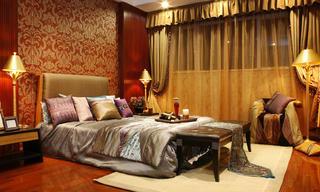 东南亚风格装修卧室设计图
