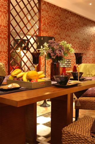东南亚风格装修餐桌装饰摆件