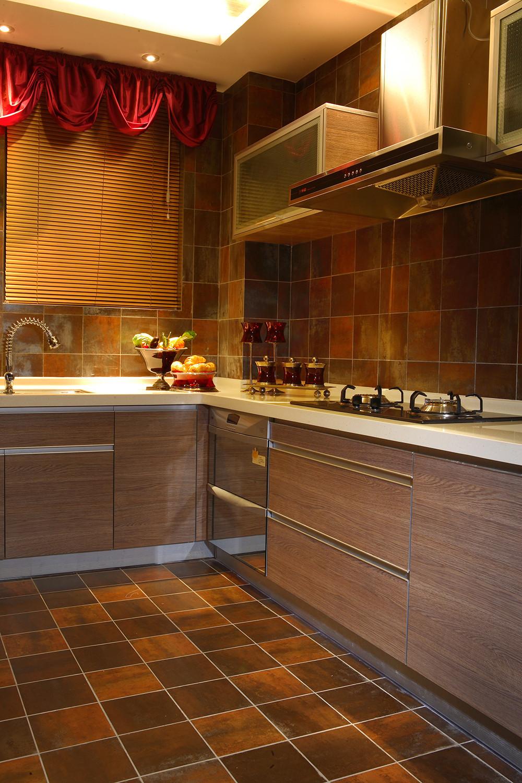 东南亚风格装修厨房布局图