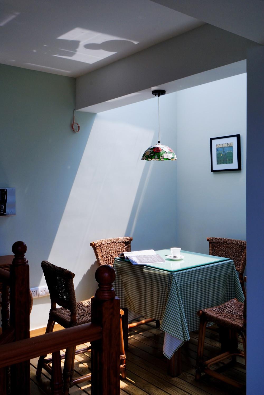 古典美式别墅阳光房布置图