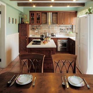 古典美式别墅 质朴温暖