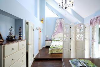 古典美式别墅儿童房设计图