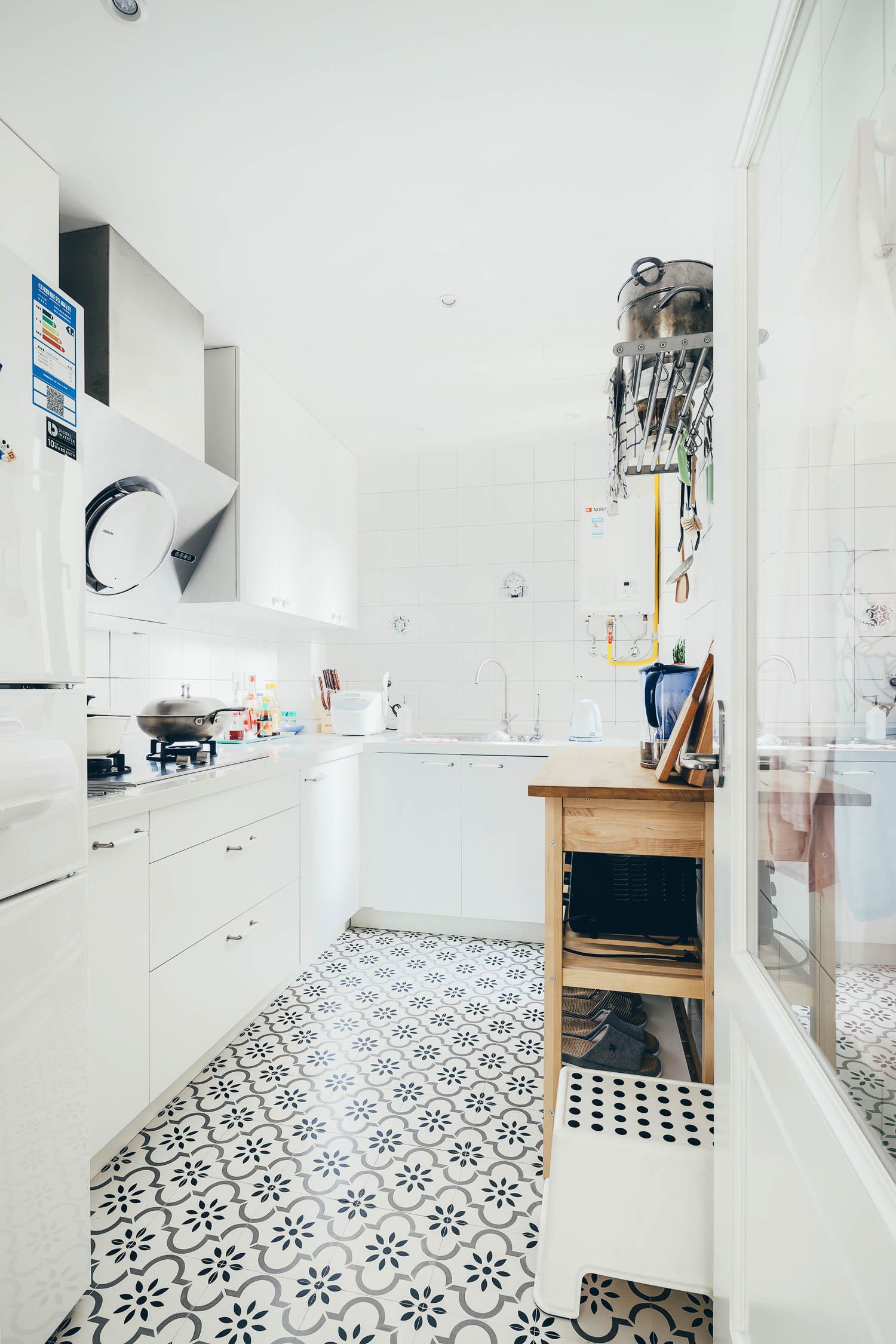 北欧宜家风厨房设计图