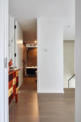 简约复式二居装修过道图片