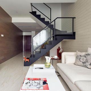 简约复式二居装修设计图