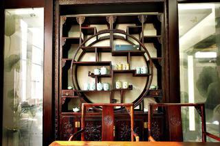 中式别墅装修装饰柜图片
