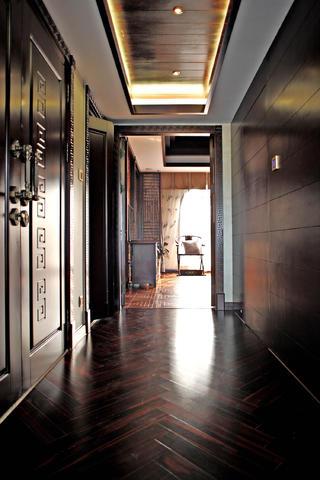 中式别墅装修卧室走道