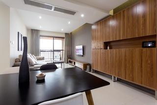 二居室简约风格设计储物柜图片
