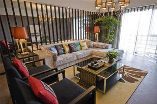 175平新中式之家客厅设计图