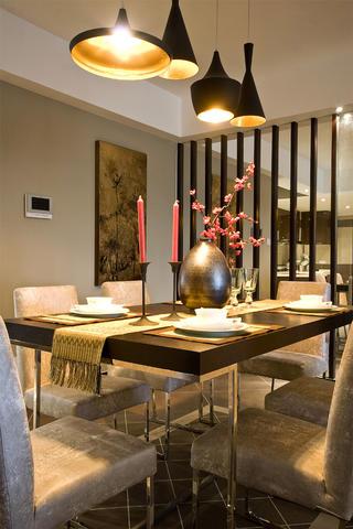 175平新中式之家吊灯图片