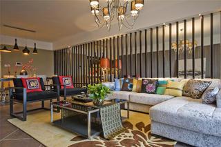 175平新中式之家沙发图片