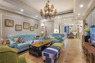 美式风格四房装修沙发图片