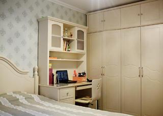 100平混搭二居装修衣柜图片