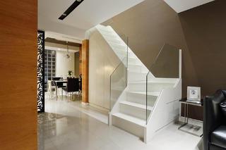现代复式装修楼梯设计