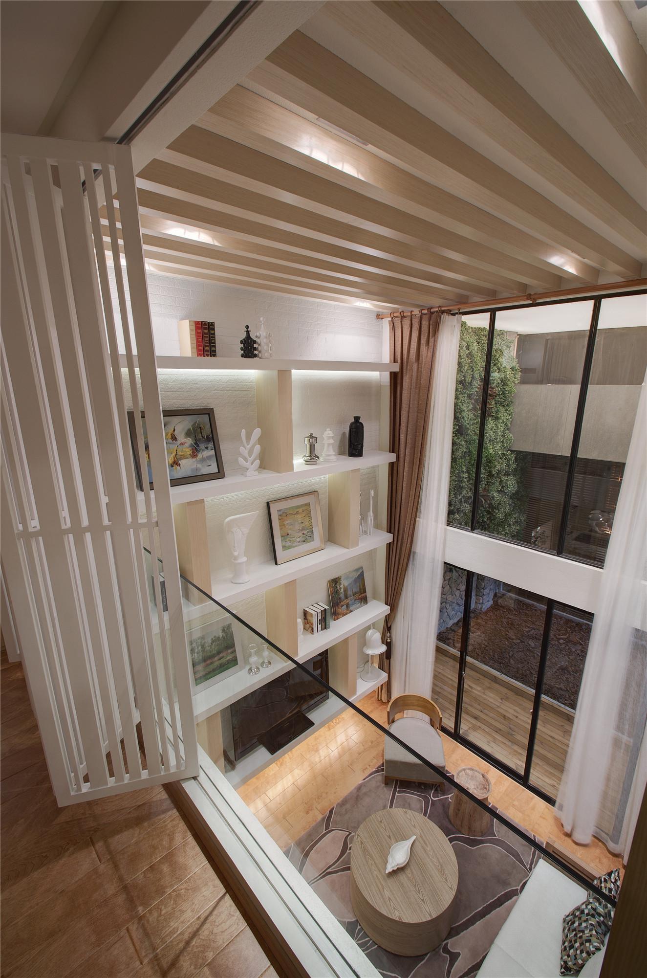 二居室简约装修客厅吊顶