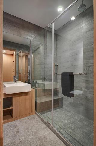 一居室现代简约家淋浴房图片