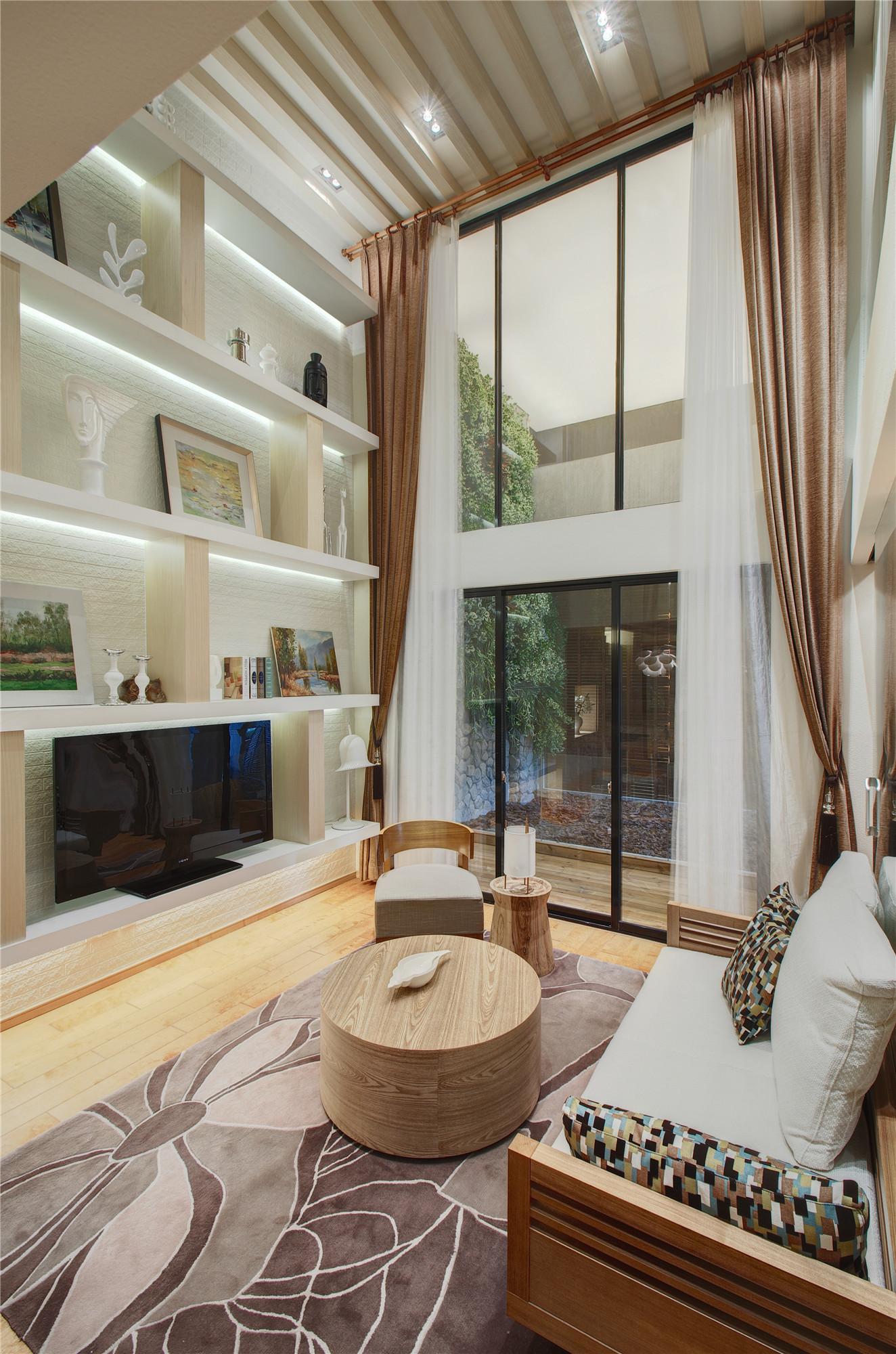 二居室简约装修客厅设计图