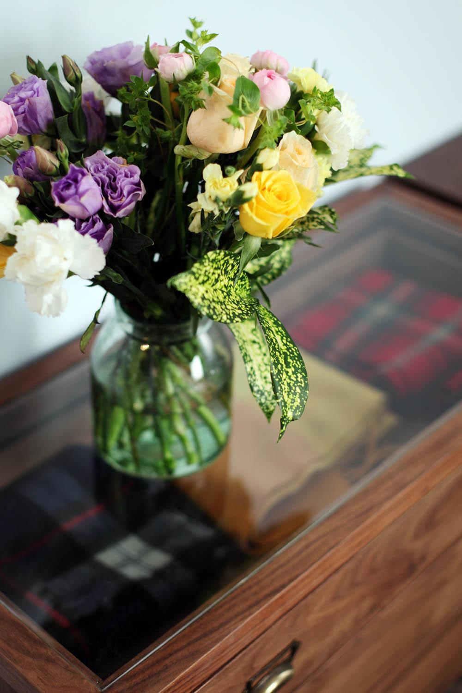 80平北欧风格家花束装饰