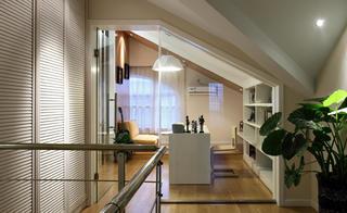简约复式装修阁楼设计