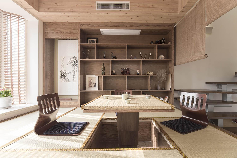 大户型日式修和室设计图
