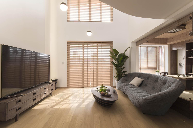 大户型日式修客厅设计图