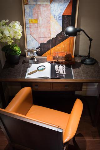 混搭时尚家装修书桌椅图片