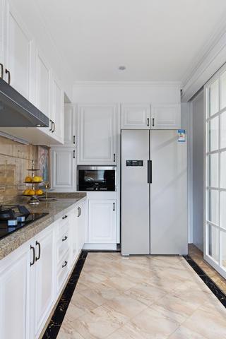 新古典复式装修厨房构造图